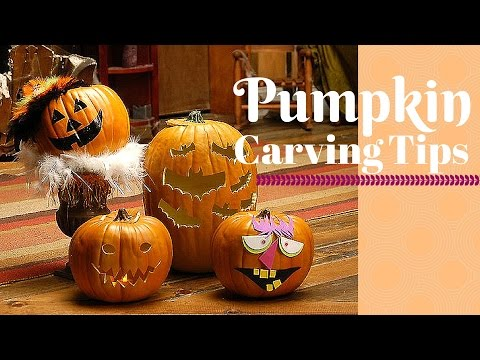 Pumpkin Carving Tips-DIY