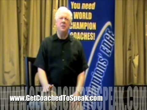 #1 Speaker Coaching Boot Camp