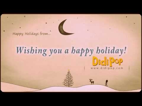 Ode to Charlie Brown Christmas  - DidiPop music for kids
