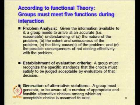 Mod-03 Lec-28 Nature of Organisational Processes(Contd.)