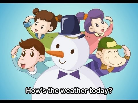 Muffin Songs - How's The Weather Today   | nursery rhymes & children songs with lyrics | muffin songs