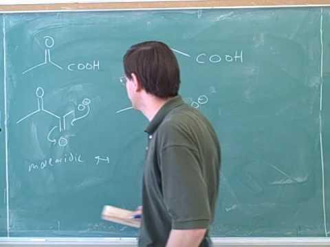 Organic chemistry: Carboxylic acids (4)