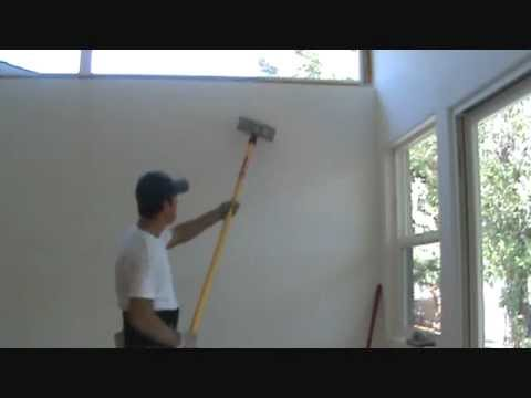 Sanding a wall with an extension pole....?