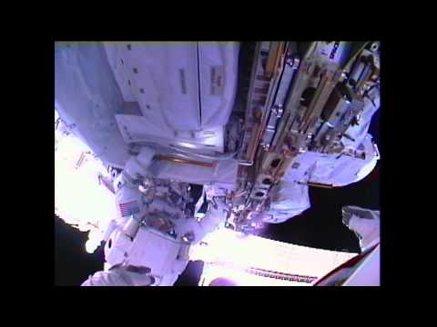 Third Time's the Charm for Spacewalkers
