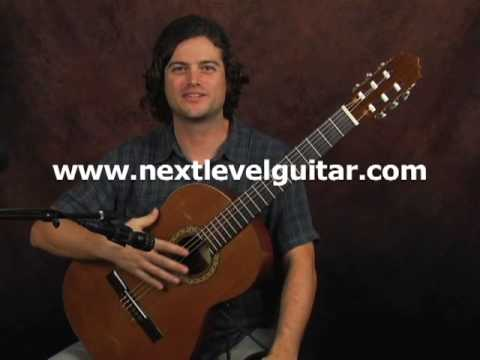 Flamenco classical guitar lesson on Rasqueado finger strum fast strumming fingerpick