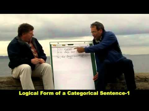 Logical Form of a Categorical Sentence 1 HD mp4   YouTube