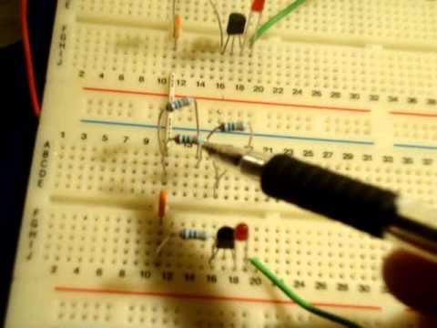 How to make an Astable Multivibrator ( square wave generator )