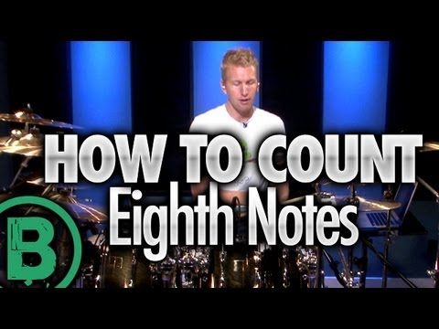 How To Count Eighth Notes - Beginner Drum Lessons