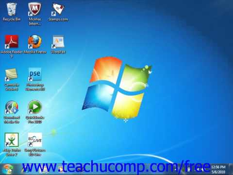 Windows 7 Tutorial Searching for a File or Folder Microsoft Training Lesson 6.1