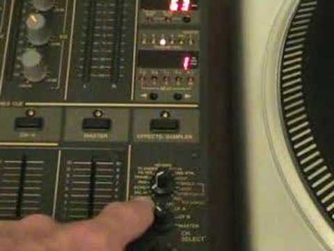 Video 2, FX on the DJM-600, The Delay.