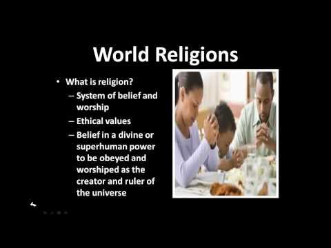 Religion part 1
