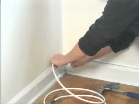 How to Run Cable Between Rooms