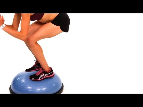 How to Do Bosu Ball Combo Workout #1 | Exercise Ball Workout