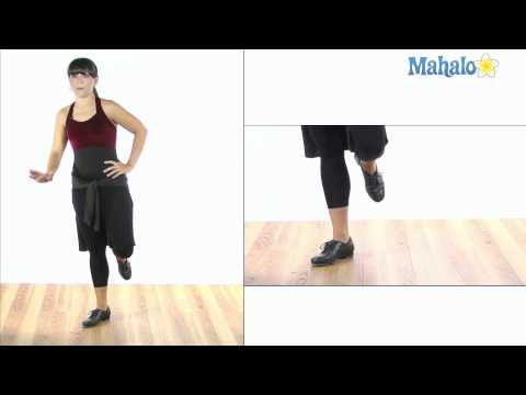 How to Do a Maxi Ford Pull Back in Tap Dance