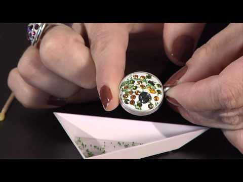 Crystal Clay alternative finishing methods by BeadSmith
