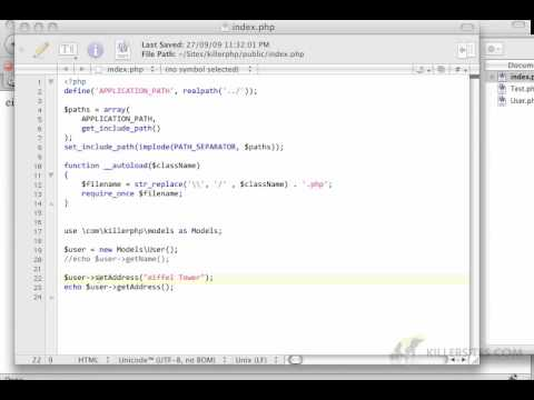 Getting into PHP6 and Advanced PHP Concepts Part 4