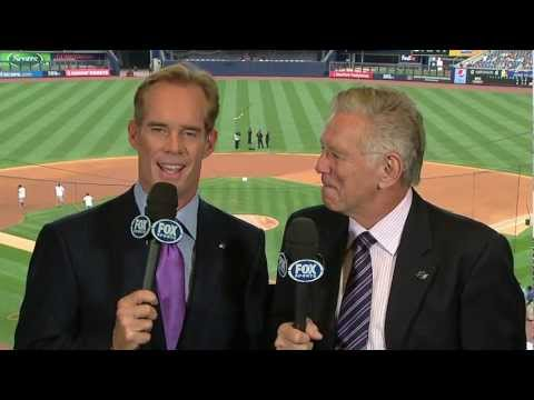 Wow! Reply from Joe Buck and Tim McCarver of Fox Saturday Baseball