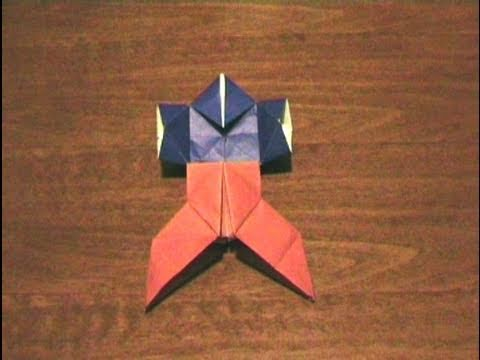 How to make an Origami Hakama (with Yakko-San) (Multiform - Form 15) ...for all (56)