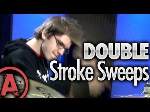 Cobus Potgieter Drum Lessons: Double Stroke Sweep