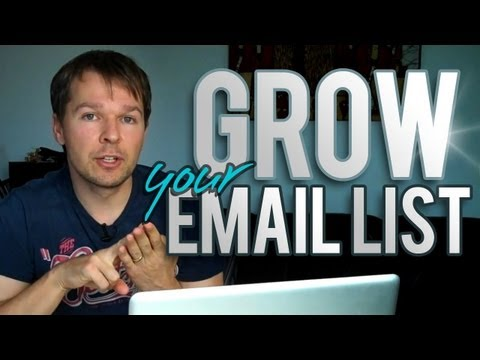 How To Grow Your Email List - 7 Top Tips From Blogging Guru