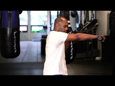 Shoulder Strength Endurance Exercise | Muay Thai Exercises | MMA