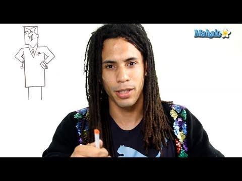 How to Draw Professor Utonium from Powerpuff Girls