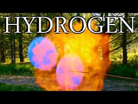 How to Make Hydrogen Gas - Clean Burning, Inexpensive, Lighter than Air!
