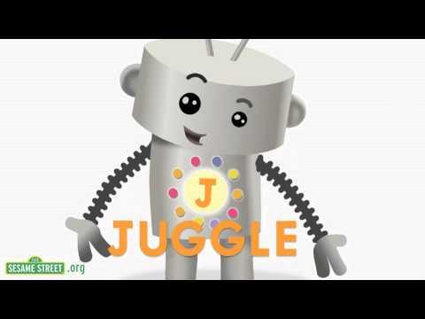 Sesame Street: Letter J Robot