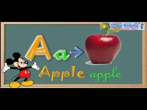 Alphabets A-Z
