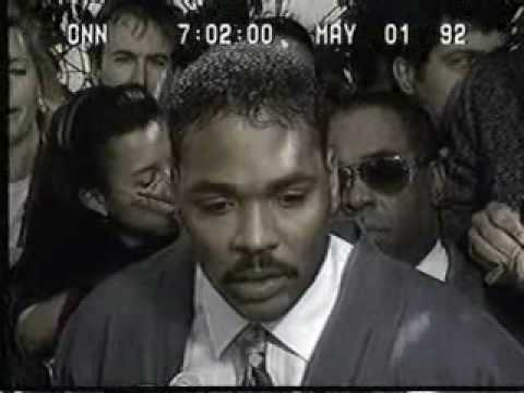 L.A. Riots of 1992: Rodney King speaks; Late troop arrival