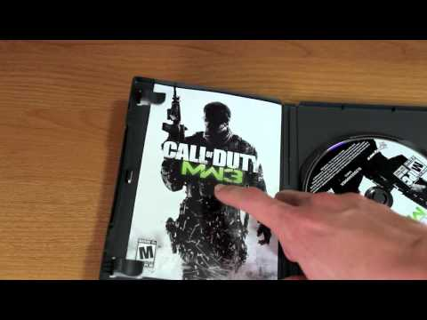 Call of Duty - Modern Warfare 3 Unboxing (Unwrapping)