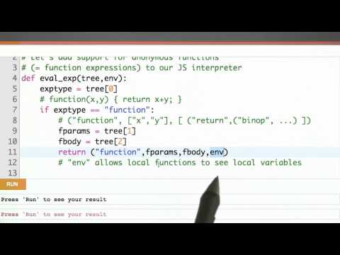 Anonymous Functions Solution - CS262 Unit 6 - Udacity