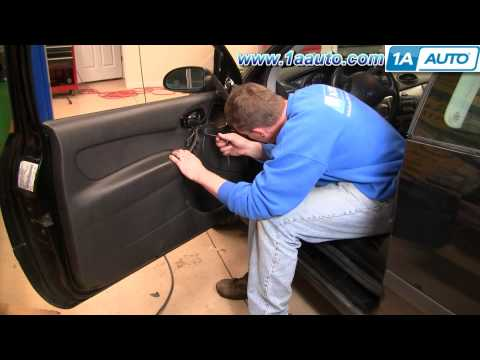 How To Install Remove Door Panel Ford Focus 3Door 00-04 1AAuto.com
