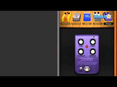 Learn GarageBand in 30 Days: Flanger Pedal