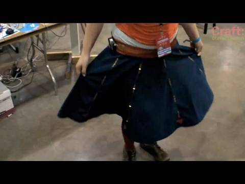North-Finding LED Skirt - CRAFT Video