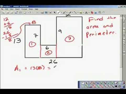 How to Find Maximum Area Given the Perimeter | Find Area of Irregular Shape