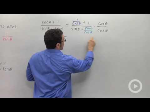Precalculus - Using Trigonometric Identities