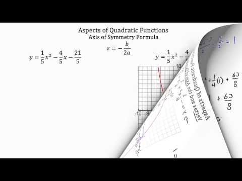 Aspects of Quadratic Functions