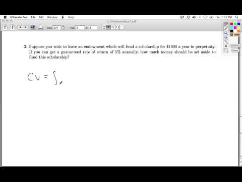 Applied Calculus Checkpoint Quiz 07 Part 3 of 3
