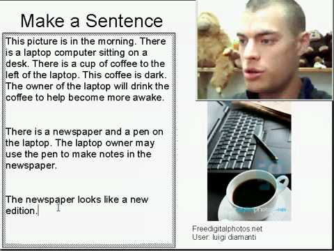 Learn English Make a Sentence and Pronunciation Lesson 9: Morning Computer