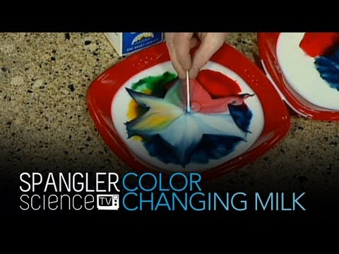 Color Changing Milk - Cool Science Experiment