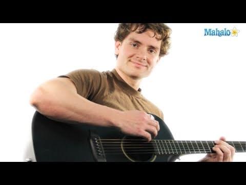 How to Play a B flat Major Seven (Bbmaj7) Chord on Guitar