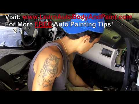 How To Paint Car Interior - Car Interior Painting - Video 2/2