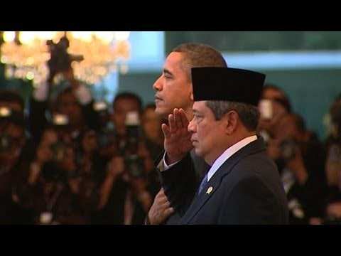 Indonesians React to President's Visit