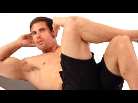 How to Do a One-Sided Crunch | Home Ab Workout for Men