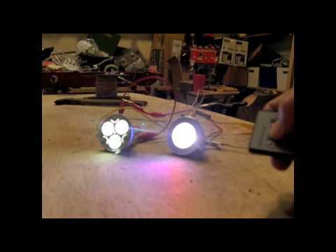 "6 Watt Solar Panel 2 Watt LED Light Emitting Diode Indoor Outdoor Lighting ""Top DIY Solar Panels"""