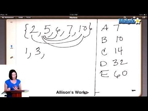 SAT Math Prep Course Question #25