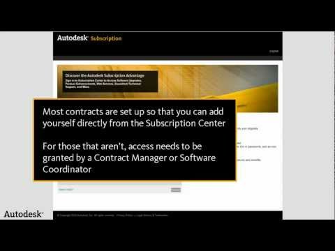 How to Create a New Profile | Subscription Center and You | AutodeskCare