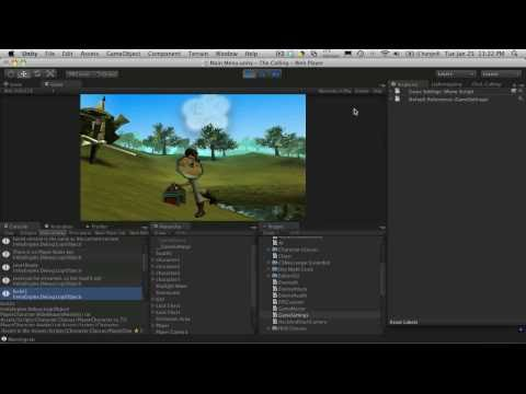 144. Unity3d Tutorial - Main Menu Part 3