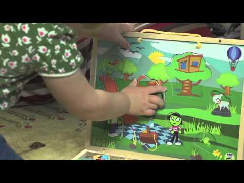 PBS KIDS Toys Educational Benefits: Explore the Playground: Take-Along Puzzle Playset